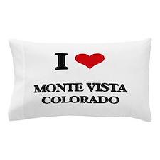 I love Monte Vista Colorado Pillow Case