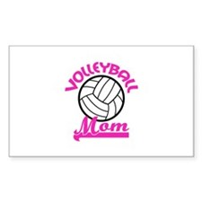 VOLLEYBALL MOM Decal