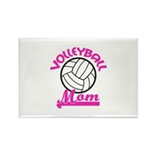 VOLLEYBALL MOM Magnets
