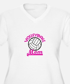 VOLLEYBALL MOM Plus Size T-Shirt