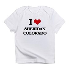 I love Sheridan Colorado Infant T-Shirt