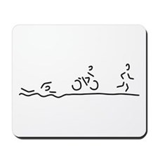 triathlon triathlet Mousepad