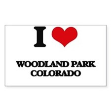 I love Woodland Park Colorado Decal
