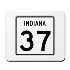 Route 37, Indiana Mousepad