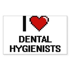 I love Dental Hygienists Decal