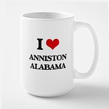 I love Anniston Alabama Mugs