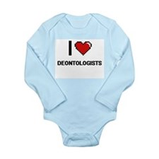 I love Deontologists Body Suit