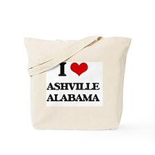 I love Ashville Alabama Tote Bag