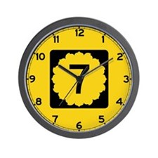 K-7, Kansas Wall Clock