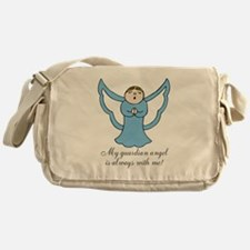 My Guardian Angel is Always with Me! Messenger Bag