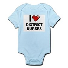 I love District Nurses Body Suit