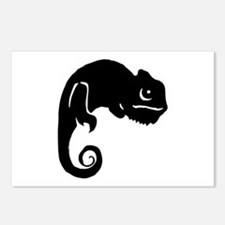Chameleon Silhouette Postcards (Package of 8)
