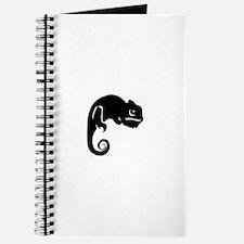 Chameleon Silhouette Journal