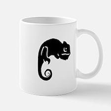 Chameleon Silhouette Mugs