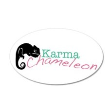 Karma Chameleon Wall Decal