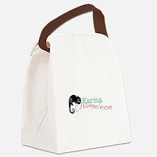 Karma Chameleon Canvas Lunch Bag