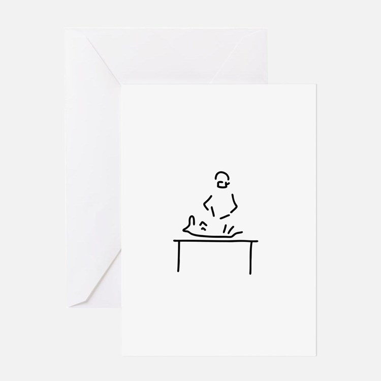 veterinarian veterinary medicine ve Greeting Cards
