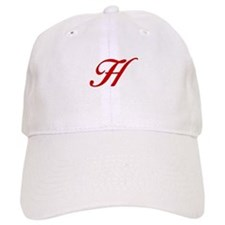 H-Bir red2 Baseball Baseball Cap