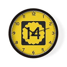 K-14, Kansas Wall Clock