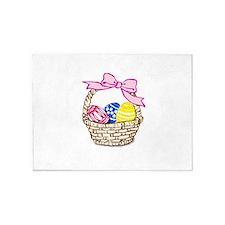Easter Basket 5'x7'Area Rug