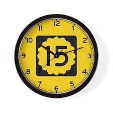 K-15, Kansas Wall Clock