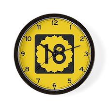 K-18, Kansas Wall Clock