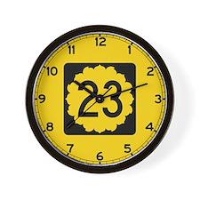 K-23, Kansas Wall Clock