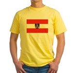 Austrian Flag (2) Yellow T-Shirt