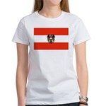 Austrian Flag (2) Women's T-Shirt