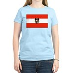 Austrian Flag (2) Women's Light T-Shirt