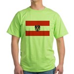 Austrian Flag (2) Green T-Shirt