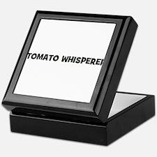 tomato whisperer Keepsake Box