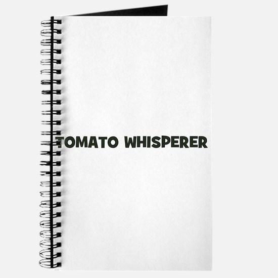tomato whisperer Journal