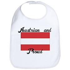 Austrian and Proud Bib