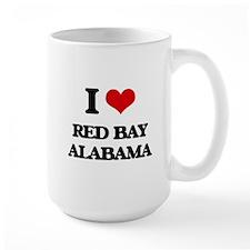 I love Red Bay Alabama Mugs