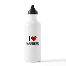 I love Farriers Water Bottle