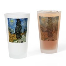 Van Gogh - Cypress against a Starry Drinking Glass