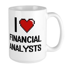 I love Financial Analysts Mugs