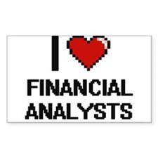 I love Financial Analysts Decal