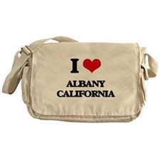 I love Albany California Messenger Bag