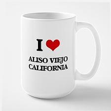 I love Aliso Viejo California Mugs