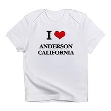 I love Anderson California Infant T-Shirt
