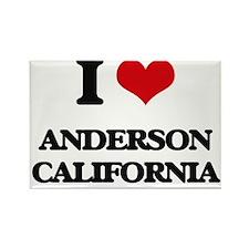 I love Anderson California Magnets