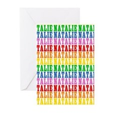 Rainbow Name Pattern Greeting Cards (Pk of 20)
