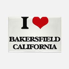 I love Bakersfield California Magnets