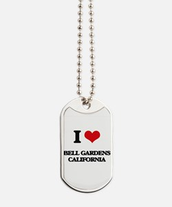 I love Bell Gardens California Dog Tags