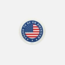 Proud To Be An American Mini Button (100 pack)
