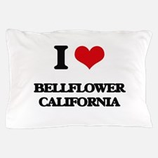 I love Bellflower California Pillow Case