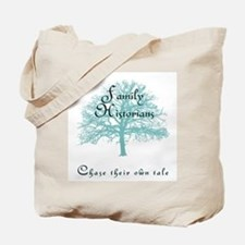 Family Historian Chase Tale Tote Bag