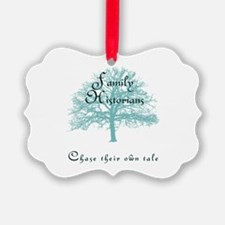 Family Historian Chase Tale Ornament